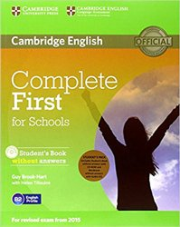 Complete First for Schools - Student's Pack (Student's Book without Answers with CD-ROM, Workbook without Answers with Audio CD)