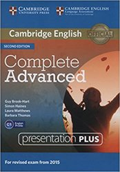 Complete Advanced - Presentation Plus DVD-ROM