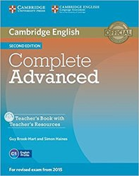 Complete Advanced - Teacher's Book with Teacher's Resources CD-ROM