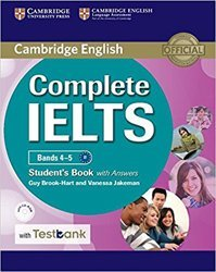 Complete IELTS Bands 4–5 - Student's Book with Answers with CD-ROM with Testbank
