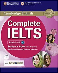 Complete IELTS Bands 5–6.5 - Student's Book with Answers with CD-ROM with Testbank