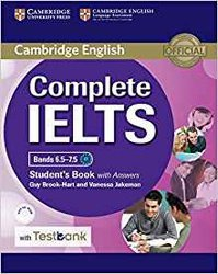 Complete IELTS Bands 6.5–7.5 - Student's Book with answers with CD-ROM with Testbank