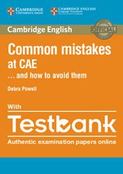 Common Mistakes at CAE… and How to Avoid Them - Paperback with Testbank