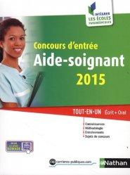 Concours d'entrée aide-soignant 2015