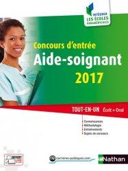 Concours d'entrée aide-soignant 2017