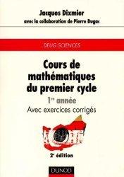 Cours de mathématiques du premier cycle 1ère année