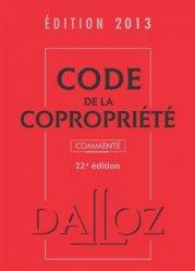 Code de la copropriété 2013