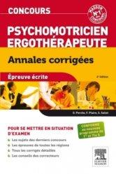 Concours Psychomotricien - Ergothérapeute