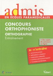 Concours Orthophoniste Orthographe