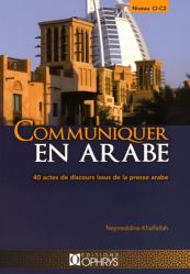 COMMUNIQUER EN ARABE