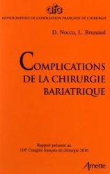 Complications de la chirurgie bariatrique