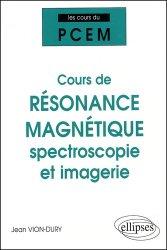 Cours de résonance magnétique spectroscopie et imagerie