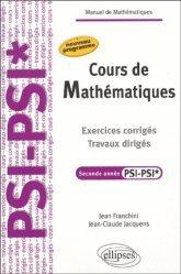 Cours de mathématiques Seconde année PSI - PSI*