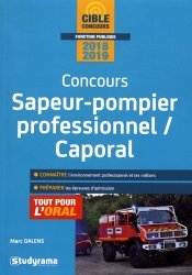 Concours Sapeur-pompier professionnel / Caporal
