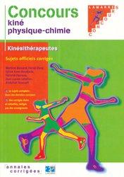Concours kiné physique-chimie