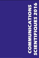 Communications scientifiques 2016 MAPAR
