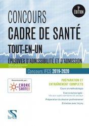 Concours cadre de santé 2019 - 2020
