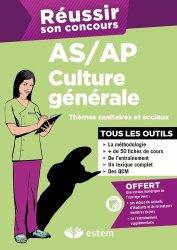 Culture générale AS/AP 2015 - Thèmes sanitaires et sociaux