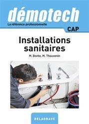 Démotech installations sanitaires CAP (2017)