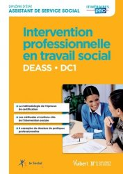 DEASS DC 1 Intervention professionnelle en travail social