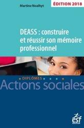 DEASS : construire et réussir son mémoire 2018