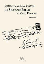 De sigmund Freud à Paul Federn