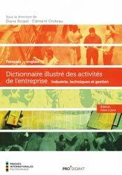 Dictionnaire illustré des activités de l'entreprise (français-anglais)