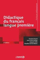 Didactique du français langue première