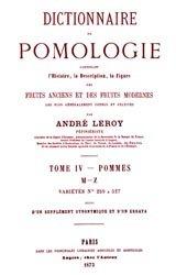 Dictionnaire de pomologie Tome 4