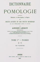 Dictionnaire de pomologie Tome 1