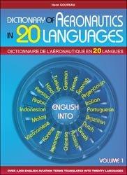 Dictionnaire de l'Aéronautique en 20 langues