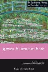 Dossiers des sciences de l'éducation (Les), n° 39