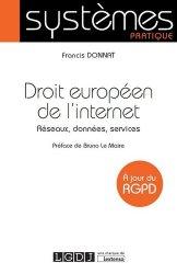 Droit européen de l'internet