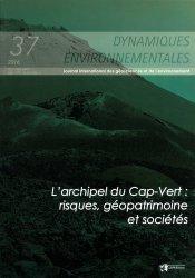 Dynamiques environnementales, N°37/2016