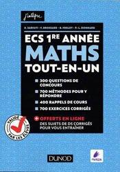 ECS 1re année - Maths