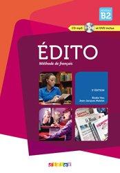 Edito Méthode de Français - Livre, CD et DVD