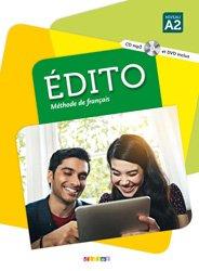 Edito Méthode de Français - Livre, CD MP3 et  DVD
