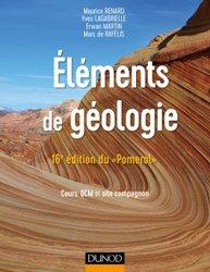 Eléments de géologie - 16e édition du