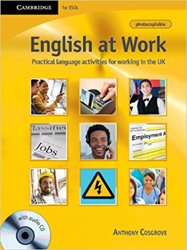 English at Work - Book with Audio CD