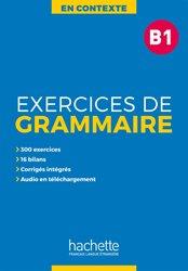 En Contexte : Exercices de grammaire B1 + audio MP3corrigés
