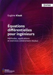 Équations différentielles pour ingénieurs
