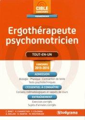 Ergothérapeute psychomotricien - Concours 2015-2016