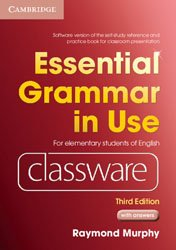 Essential Grammar in Use Elementary Level - Classware DVD-ROM with answers