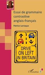 Essai de grammaire contrastive anglais-français
