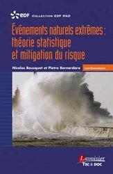 Événements naturels extrêmes théorie statistique et mitigation du risque Coll. EDF R&D