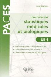 Exercices de statistiques médicales et biologiques