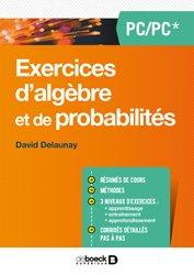 Exercices d'algèbre et de probabilités PC PSI