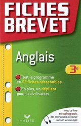 FICHES BREVET ANGLAIS