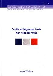 Fruits et légumes frais non transformés