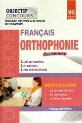 Français Orthophonie 2014